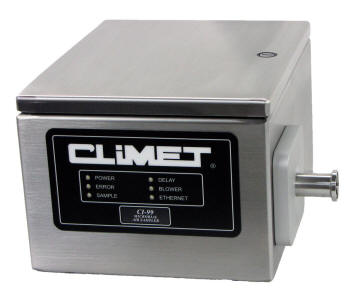Climet CI-99 Microbial Sampler for isolators, RABS, BSCs